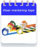 Vloertape button